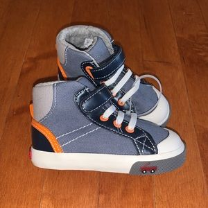 SEE KAI RUN high top sneaker